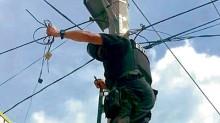 La policía desmanteló al menos 118 videocámaras y 59 antenas transmisoras en varios municipios del estado de Tamaulipas.