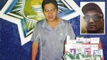 """El supuesto narcotraficante Óscar Alejandro Rivero Matos """"El Pipo"""" o """"El Uno"""" (recuadro), pretendía tener control entre los vendedores ambulantes de la zona hotelera y de la ciudad."""