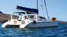 The Yachtsetter, en el Mar de Cortés.