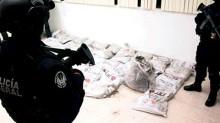 El hallazgo se produjo en la aduana, en una tarima que contenía 40 costales de 25 kilos cada uno.