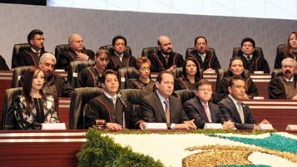 Eruviel Ávila - Informe de Sergio Medina, presidente del Tribunal Superior de Justicia.