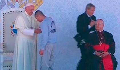 Francisco deploró las limitaciones del modelo penitenciario actual en su visita al Centro de Readaptación Social número 3 en Ciudad Juárez.