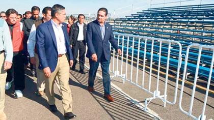 El gobernador Silvano Aureoles garantizó que Michoacán está seguro y blindado para recibir este martes al Papa Francisco.