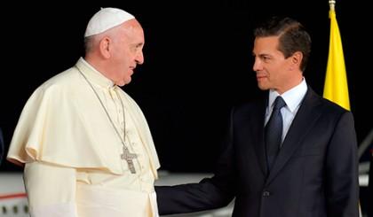 Humberto Roque Villanueva afirmó que la visita del Papa Francisco a México fue un éxito y en ningún momento el presidente Enrique Peña Nieto rompió ningún principio constitucional relativo a la laicidad.