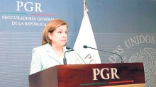 """La procuradora general de la República, Arely Gómez González, informó que hasta el momento se han consignado 46 personas por la fuga de Joaquín """"El Chapo"""" Guzmán."""