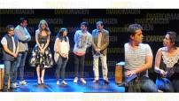 Las actuaciones de Ana González Bello y Manuel Calderón en los roles protagónicos desarrollando a seis personajes de manera simultánea dejan claro que están listos para las grandes ligas. fotos: Arturo Arellano