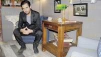 """Para dar los detalles de su disco """"Larga duración"""", Paulino Monroy concedió una entrevista para las páginas de DIARIOIMAGEN. foto: Arturo Arellano"""