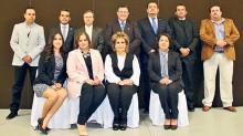 La nueva mesa directiva de la Canirac Celaya.