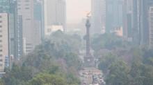 Continúan las condiciones adversas para la dispersión de los contaminantes en el Valle de México, ya que persiste un sistema de alta presión sobre la región central del país.