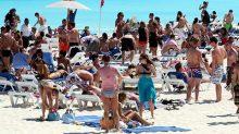 De enero a marzo de este año arribaron al país ocho millones 800 mil turistas extranjeros, informó la Secretaría de Turismo.