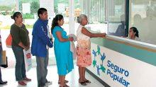 La Sedesol descarta que se vayan a erogar más recursos para la incorporación de más beneficiarios al Seguro Popular.