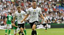 La selección germana hizo valer su condición de serio aspirante al título de la Eurocopa 2016.