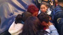Los menores fueron encontrados en una tienda de autoservicio, en la colonia Victoria de las Democracias, delegación Azcapotzalco.
