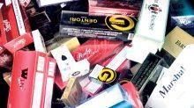 En este año han sido asegurados 300 millones de cigarros irregulares en diferentes acciones de la Cofepris