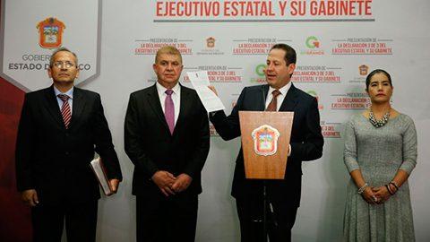 Eruviel Ávila Villegas y los integrantes de su gabinete entregaron a Transparencia Mexicana su Declaración 3 de 3.