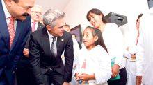 Miguel Ángel Mancera Espinosa inauguró la Clínica de Labio y Paladar Hendido, donde habrá atención de casos de manera permanente.