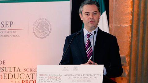 Aurelio Nuño afirmó que el eje para una verdadera transformación del país es un un modelo educativo.