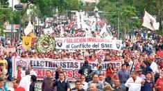 A casi 7 años de resistencia, los integrantes del SME consiguieron su liquidación y la condonación del crédito de vivienda de 14 mil 600 trabajadores sindicalizados.