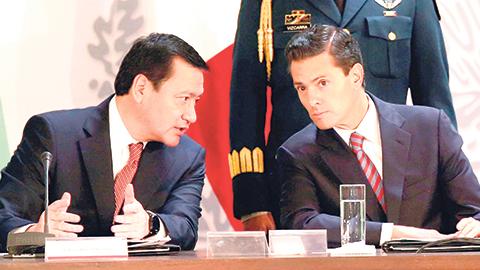El presidente Enrique Peña Nieto encabezó la 40 sesión del Consejo Nacional de Seguridad.