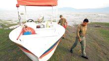 Se confirmó la localización de nueve cuerpos en el lago de Chapala, ocho hombres y una mujer.