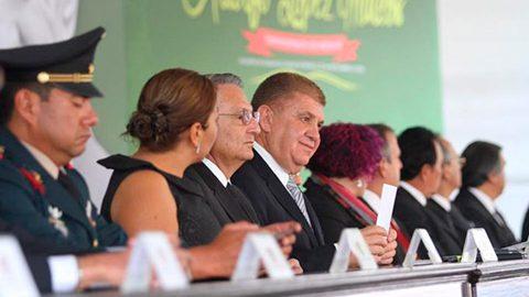 El secretario General de Gobierno, José Manzur Quiroga, aseguró que la mejor manera de honrar al ex presidente Adolfo López Mateos es a través de la cultura.