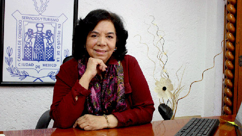 Ada Irma Cruz, presidenta de Canacope.