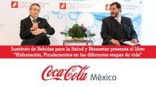 """El Instituto de Bebidas para la Salud y el Bienestar de The Coca-Cola Company (IBSB) presenta el libro """"Hidratación. Fundamentos en las diferentes etapas de vida"""" escrito por: Dr. Arturo Torres, Director General del Instituto y Frania Pfeffer, Gerente Científico del IBSB."""