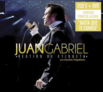 Se trabajaron casi seis años para realizar el disco Juan Gabriel, vestido de etiqueta por Eduardo Magallanes.