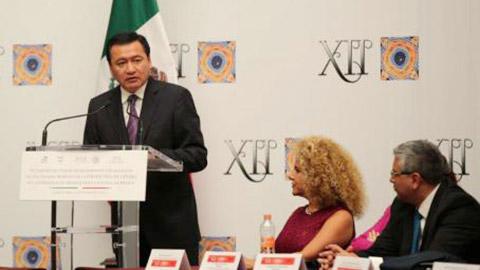Miguel Ángel Osorio Chong, en la 12 Sesión Ordinaria del Comité de Seguimiento del Pacto para Introducir la Perspectiva de Género en los Órganos de Impartición de Justicia en México.