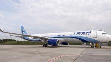 El Airbus A321, de Interjet.
