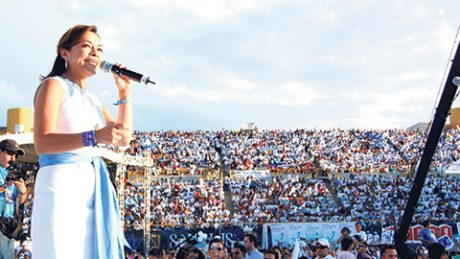 Para muchos, Josefina Vázquez Mota es la figura política que le podría arrebatar al PRI la gubernatura del Edomex.