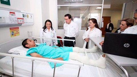 A través del IMSS Prospera se valoró a 185 pacientes, de los cuales 52 fueron operados por algún problema congénito o con alguna lesión.
