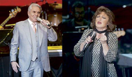 La Pareja de Oro, Enrique Guzmán y Angélica María unieron sus voces en una noche romántica y llena de rock and roll. (Fotos: Lulú Urdapilleta)