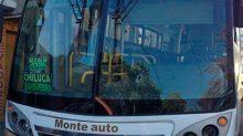 Un pasajero frustró el robo y lesionó al asaltante que amagaba a una mujer a bordo de un autobús de transporte público.
